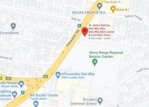 Dee-Why-Skin-Google-Map